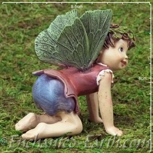Large Cute Baby Fairy The Crawling Fairy 6cm Long